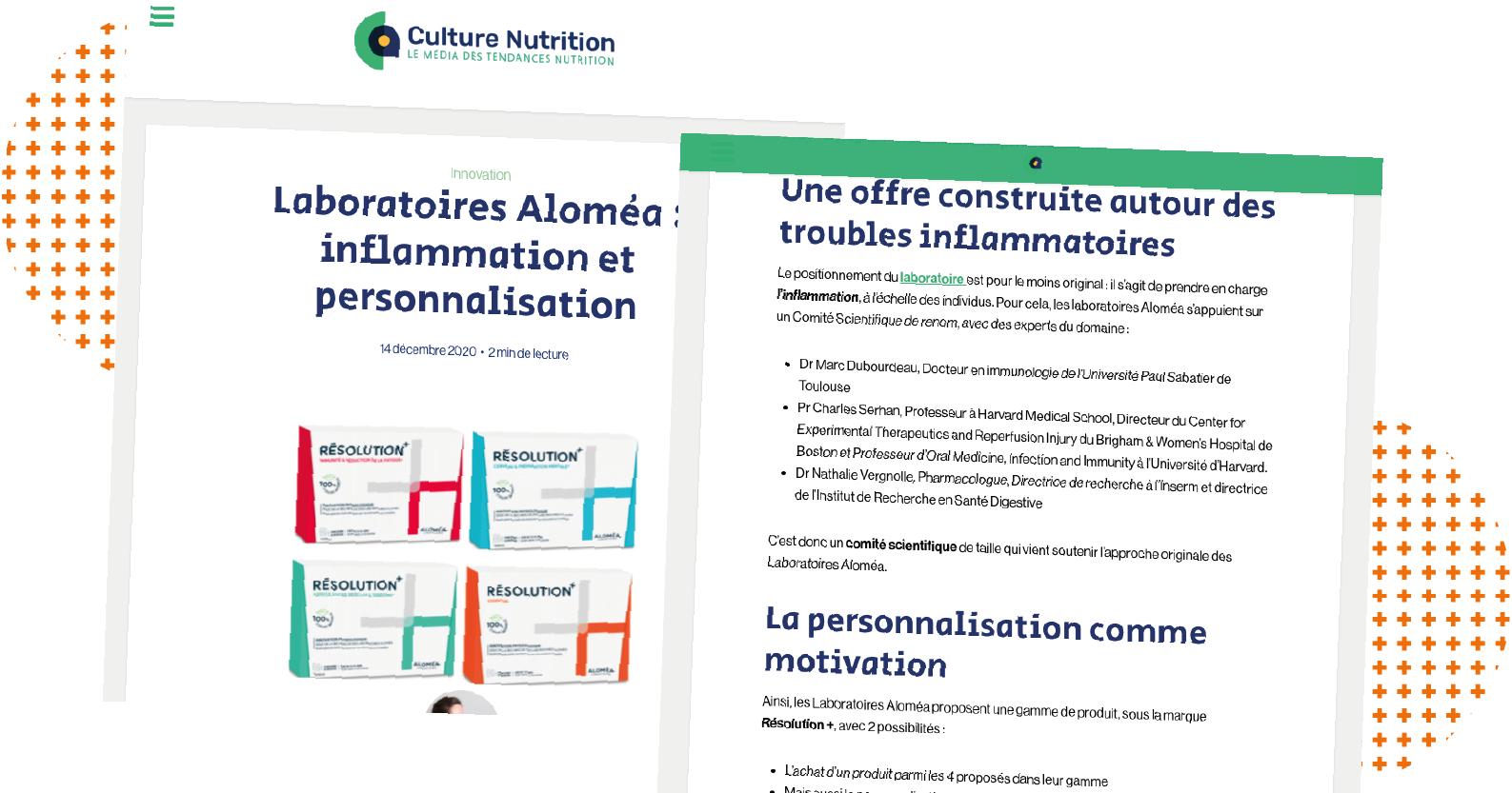 Culture Nutrition